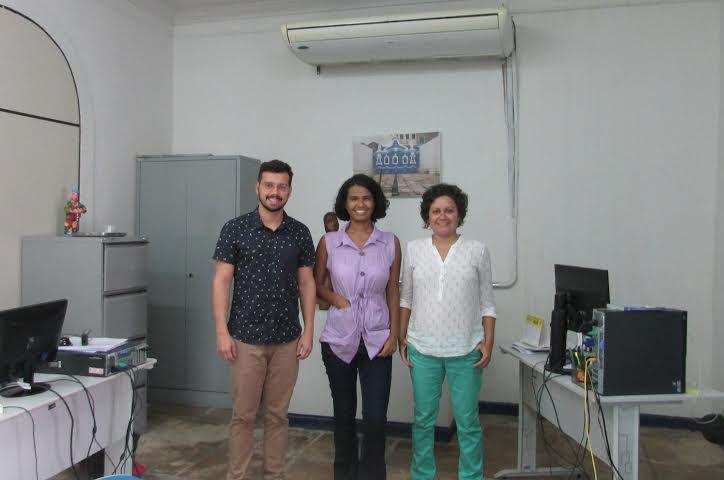 Representantes do Escritório do MINc em São Luís. Foto: Divulgação
