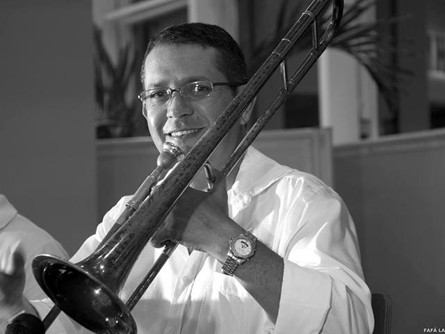 Trombonista e trompetista mineiro Norton Ferreira. Foto: Divulgação