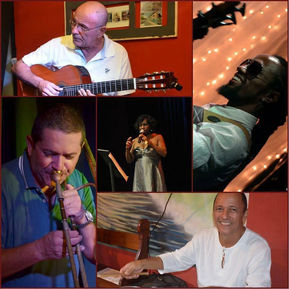 Quarteto Bom Tom e Célia Maria. Foto: Fafá Lago