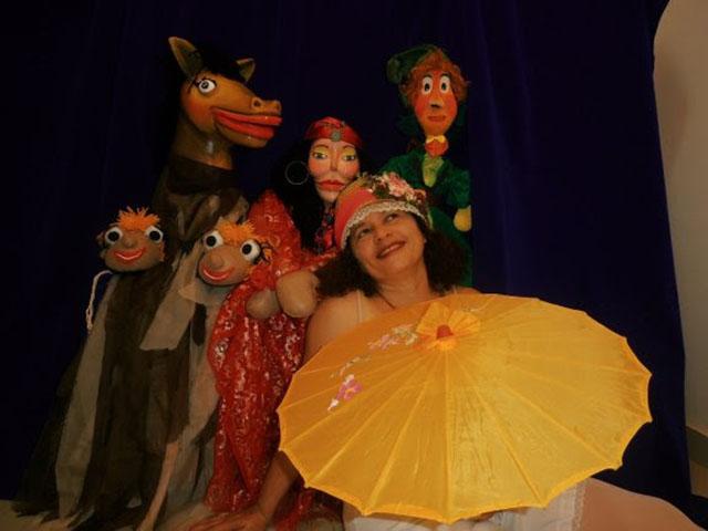 """""""Kabupe, o Cavalo Voador"""", da Companhia Reboliço de Teatro de Bonecos. Foto: Divulgação"""