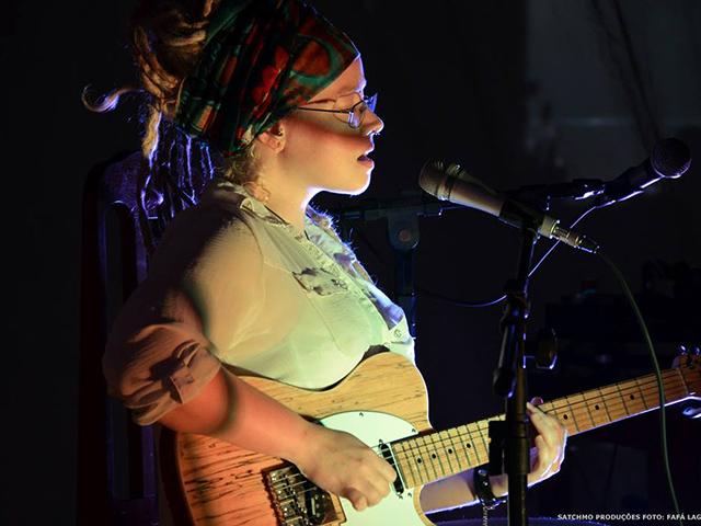 Cantora paulista Larissa Baq. Foto: Fafá Lago