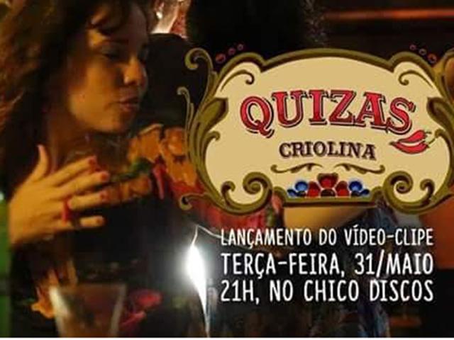 Tassia Dur participa do novo clipe do Criolina. Foto: Divulgação.