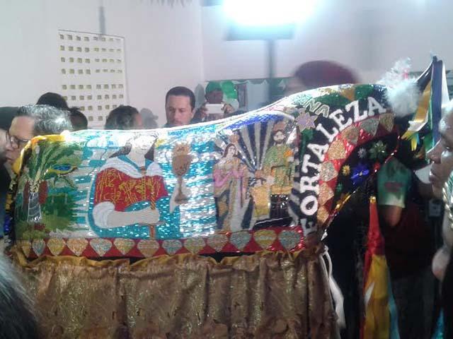 Boi de Maracanã. Foto: Heloísa Aquino /Sectur