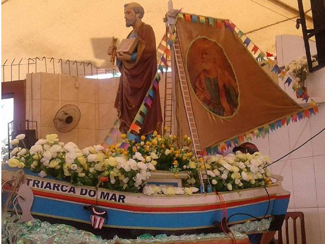 São Pedro: o patriarca do mar. Foto: Carol Botelho