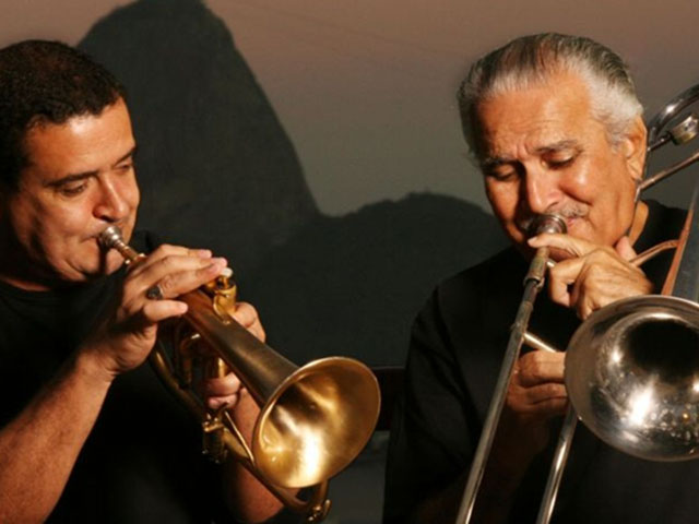 Crédito: Berg Silva/Divulgação. Músicos Zé da Velha e Silvério Pontes que se apresentam no Clube do Choro de Brasília.