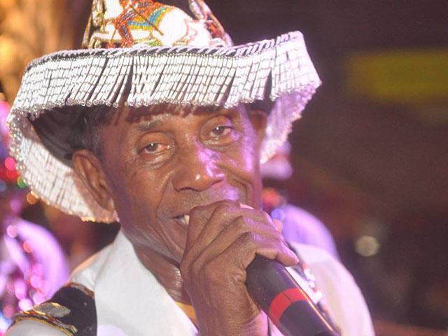 Zé Olhinho, idealizador, cantador e Amo do Boi, Unidos de Santa Fé. Foto: Divulgação