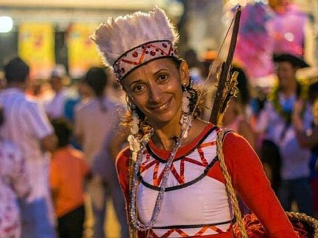 Ana Duarte: bailarina clássica e popular. Foto; Divulgação