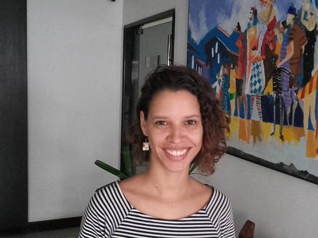 Camila Grimaldi, diretora da Galeria Trapiche (Praia Grande). Foto: Divulgação