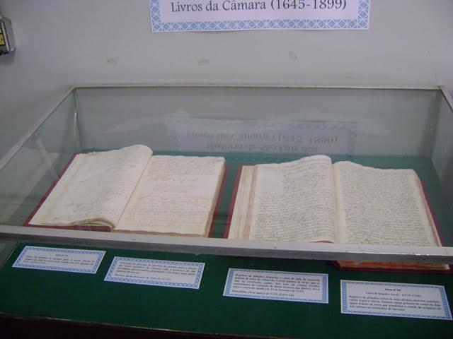 Exposição 'História de São Luís nos livros da Câmara'. Foto: Divulgação
