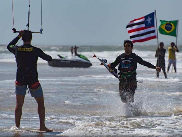 5º Campeonato Maranhense de Kitesurf. Foto: Divulgação