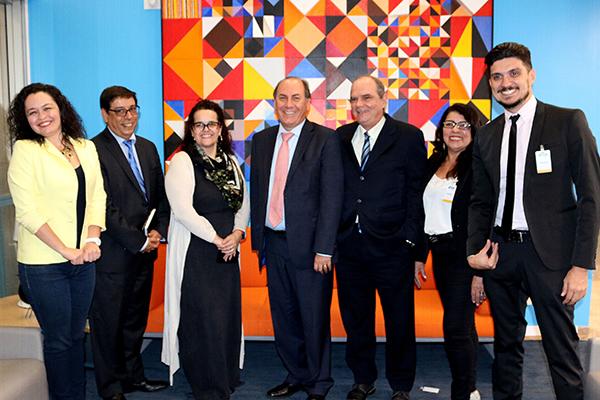 Reunião em Brasília. Foto: Divulgação