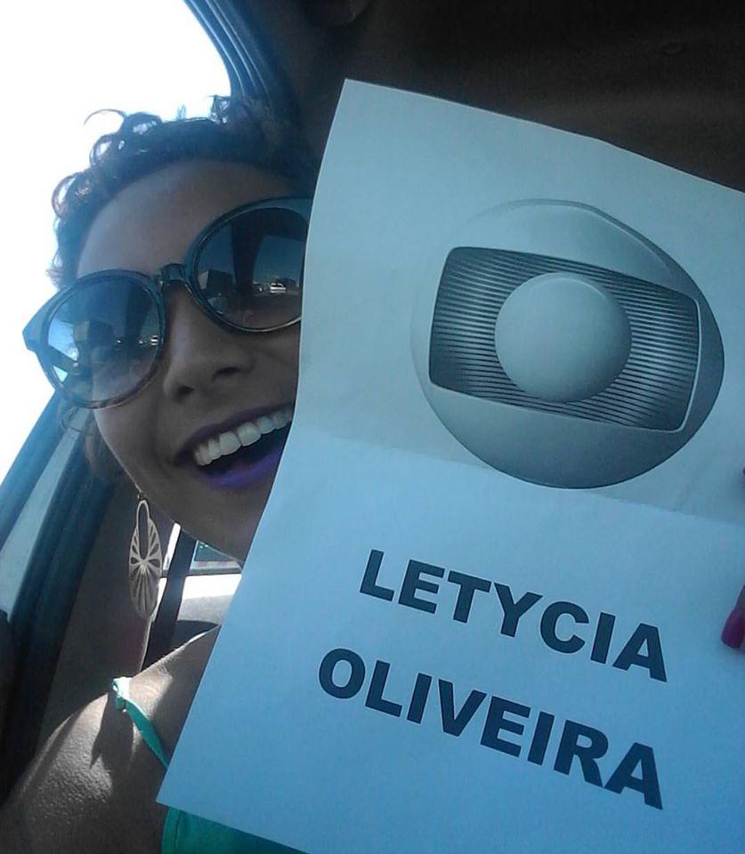 Jornalista Letycia Oliveira. Foto: Divulgação