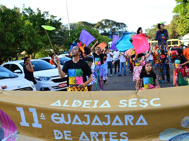 Cortejo de artistas pelas ruas do Centro Histórico de São Luís. Foto: Divulgação