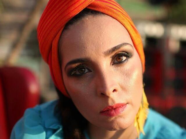 Luciana Simões em SP. Foto: Divulgação