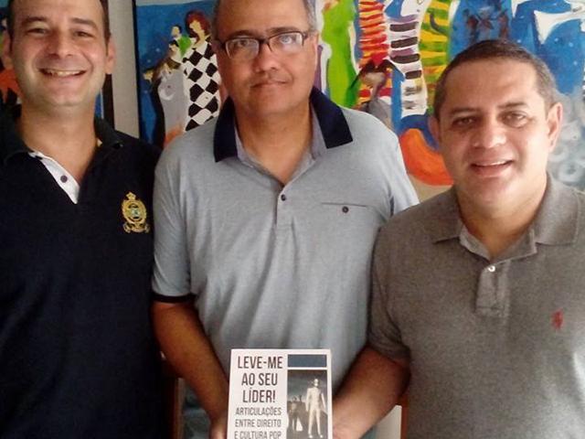 Bruno Tomé Fonseca, Érico Renato Serra Cordeiro e James Magno Araújo Farias. Foto: Divulgação