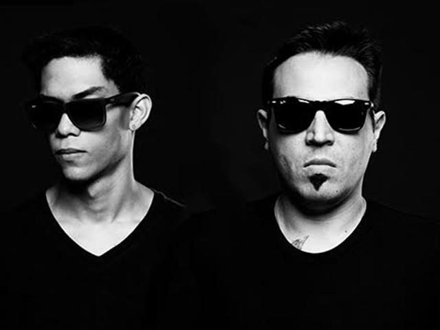 O Duo paulista Presskit, que é sucesso internacional no cena eletrônica. Foto: Divulgação