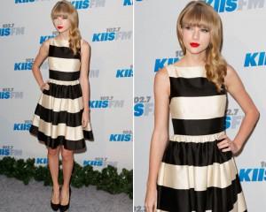 Taylor-Swift-Kate-Spade-listrado