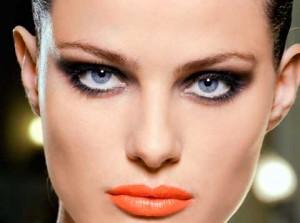 Maquiagem-batom-laranja