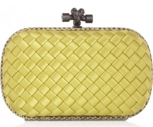 Bottega-Veneta-Satin-Knot-Clutch