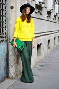 look-verde-e-amarelo