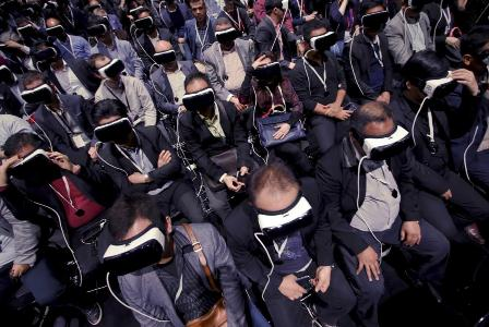 Samsung e Zuckerberg casam virtual