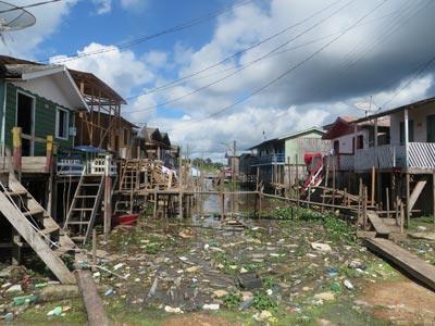 Depressão atinge populações da Amazônia