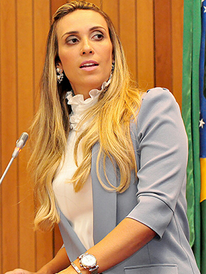 Andrea questiona empréstimo de R$ 55 milhões