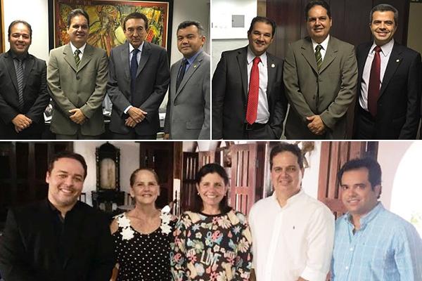 Roseana, Lobão e PRB com Gilberto Aroso