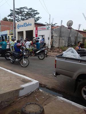 Bandidos explodem banco em Bom Lugar