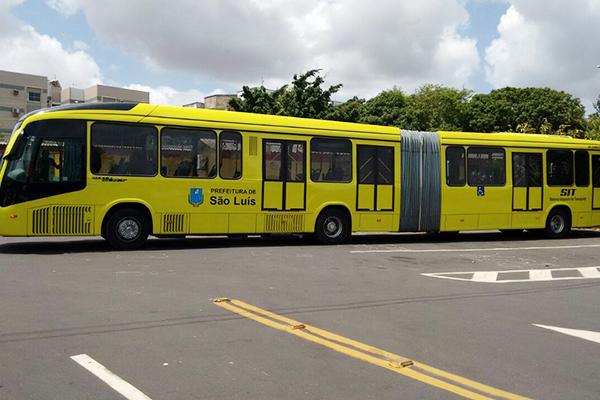 Novos ônibus circulam em São Luís