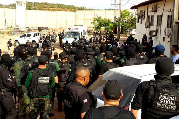 Após ataques, governo faz 'pente fino' em unidades do Complexo de Pedrinhas