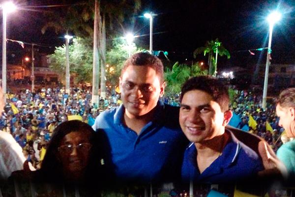 Zequinha encerra campanha em Matinha