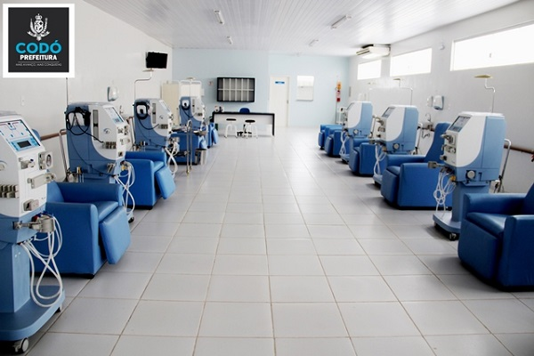 Prefeito Francisco Nagib faz visita ao Centro de Nefrologia de Codó.